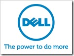 Dell Blue Vertical Tagline RGB Logo